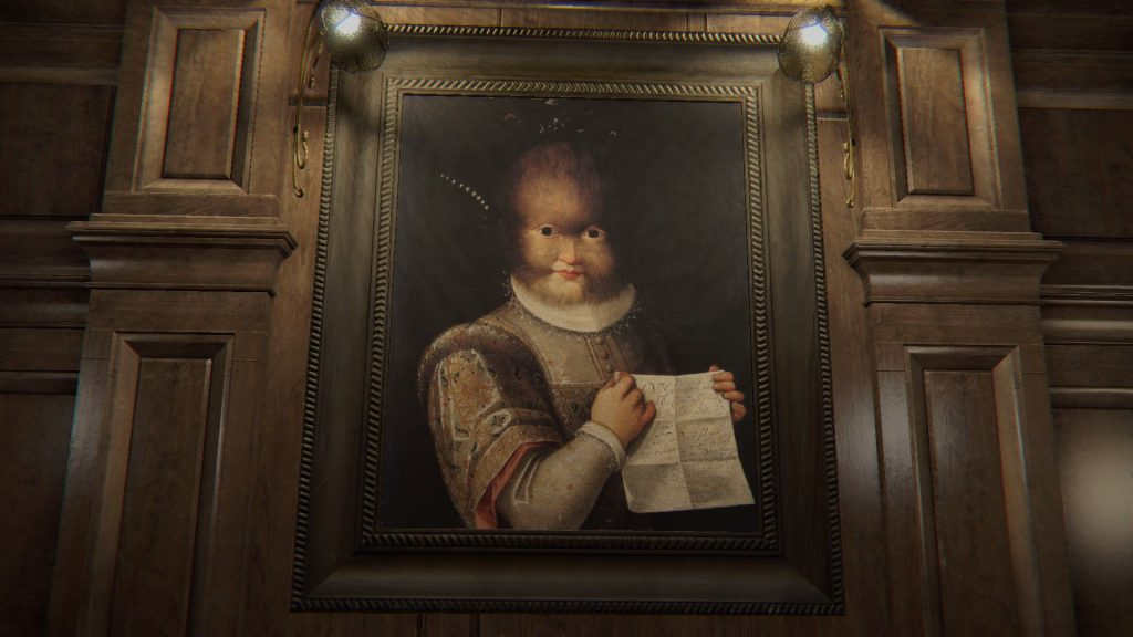 A creepy painting form Layers of fear