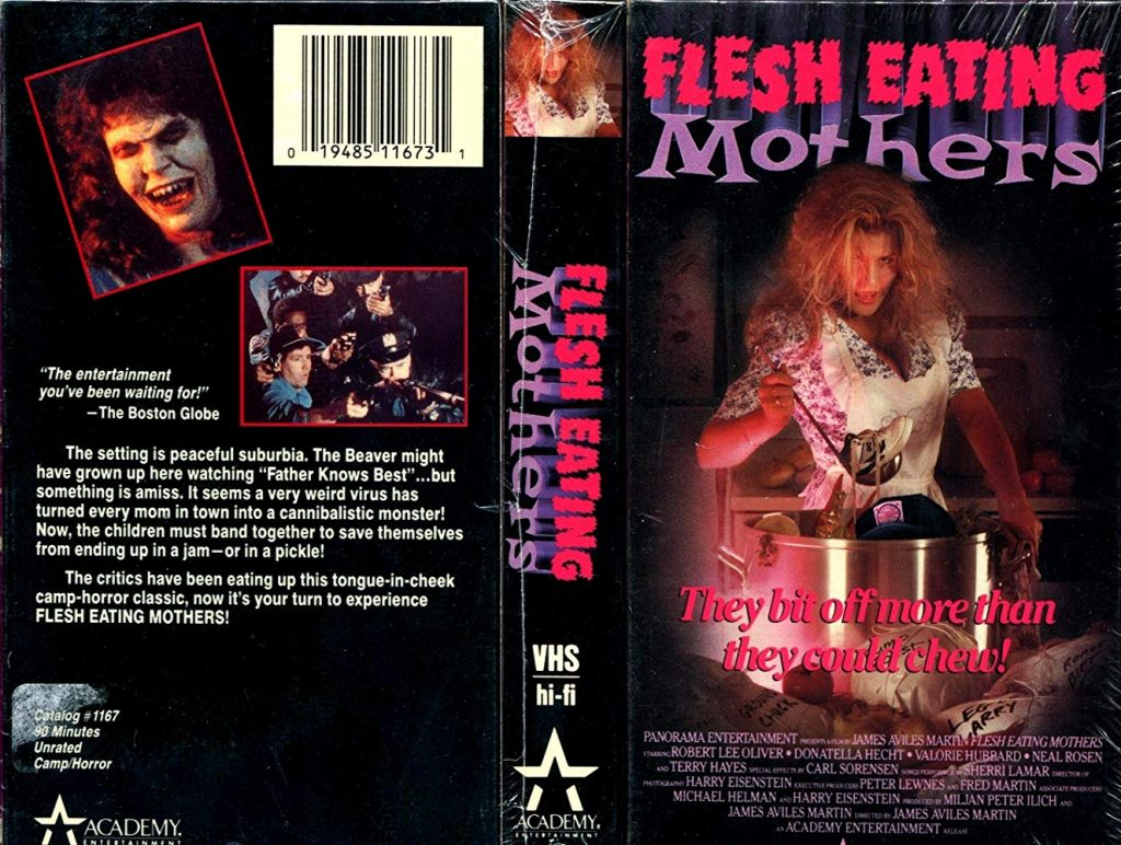 Vhs cover of the film