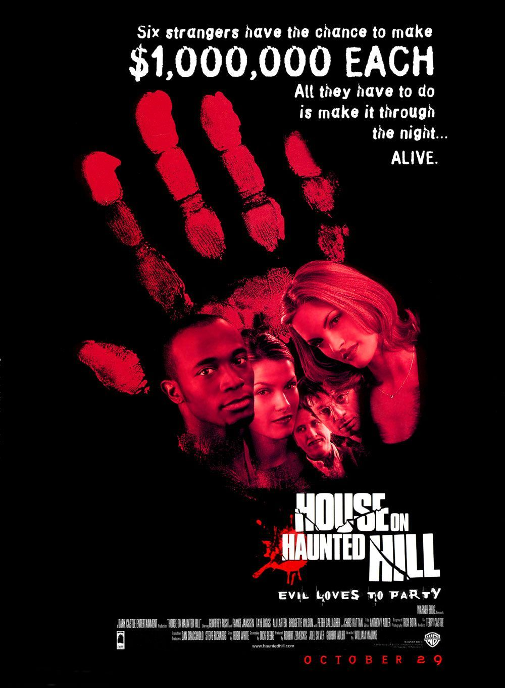 You are currently viewing House On Haunted Hill (1999) – Remake done right