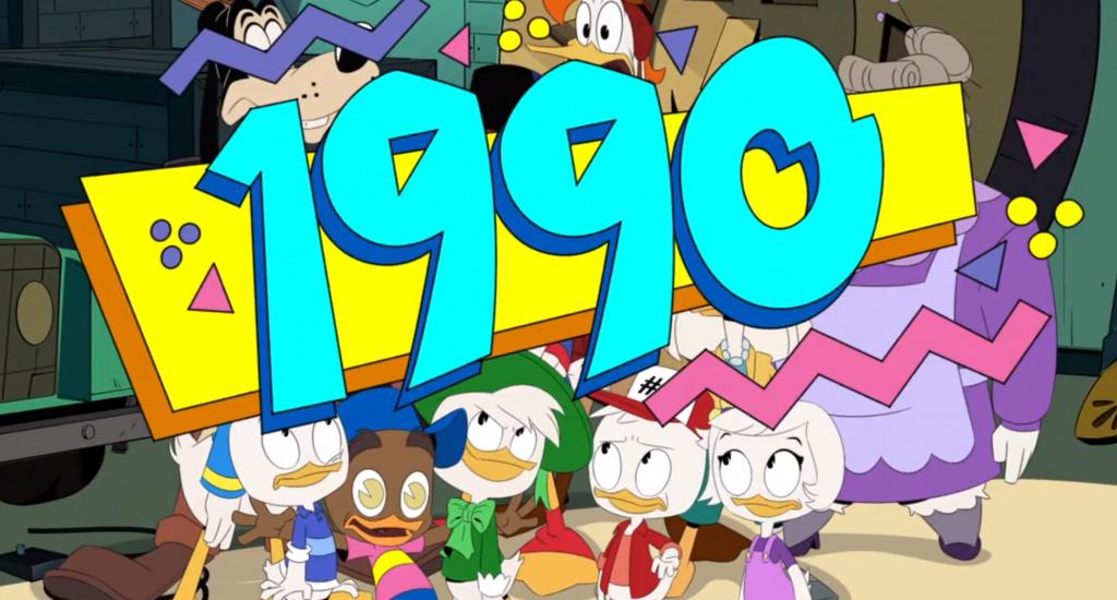 90's ducktales spoof