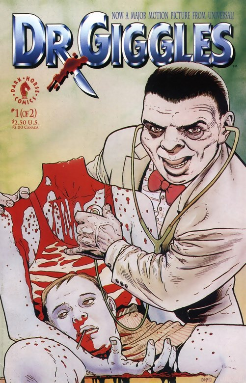 You are currently viewing Dr. Giggles (the comic) – Rather comical!